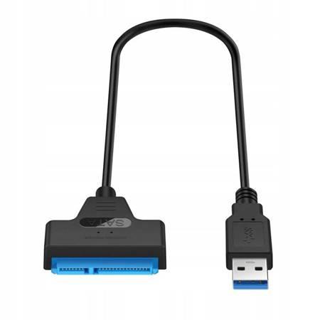 ADAPTER USB 3.0 DYSKÓW SATA SSD HDD PRZEJŚCIÓWKA